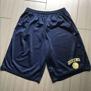 Alleson Athletic Queens blue shorts USA Size 2XL.